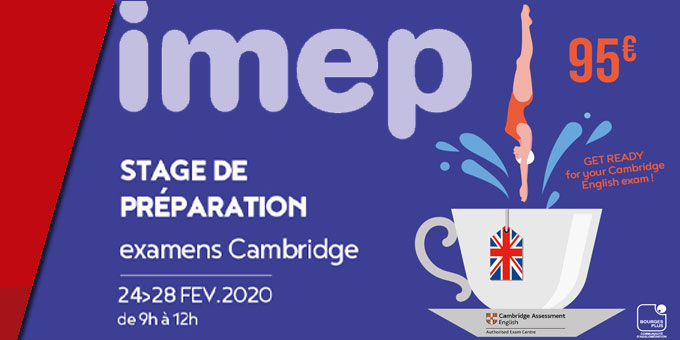 Stage de Préparation à l'examen de Cambridge