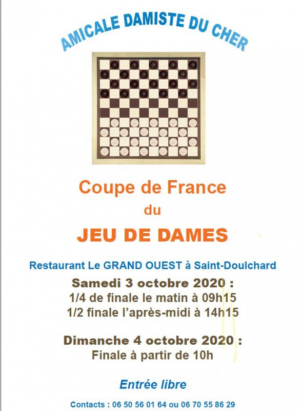 Coupe de France du jeu de Dames